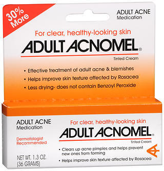 Adult Acnomel Tinted Cream - 1.3 OZ