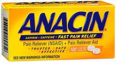 Anacin Coated Tablets - 100 TB