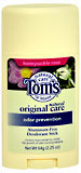 Tom's of Maine Natural Deodorant Stick Honeysuckle Rose - 2.25 OZ