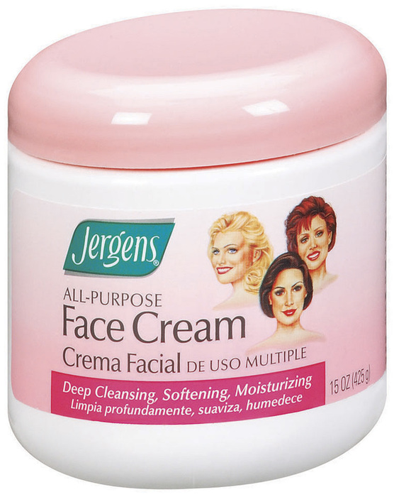 Jergens All-Purpose Face Cream  -  15 OZ
