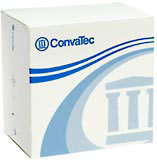 ConvaTec Sur-Fit Natura Stomahesive Wafers With Flexible Collars White 1-3/4 Inches 125259 - 10 EA
