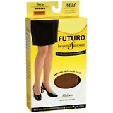 Futuro Beyond Support Thigh Highs Mild Medium Beige - 1 Pair