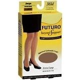 FUTURO Beyond Support Thigh Highs Mild X-Large Beige - 1 PR