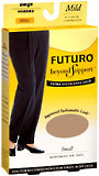 Futuro Beyond Support Knee Highs Mild Small Beige - 1 Pair