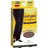 FUTURO Beyond Support Knee Highs Mild Large Taupe - 1 PR