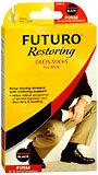 Futuro Support Socks Men's Firm Medium Black - 1 Pair