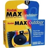 Kodak Max Outdoor One-Time-Use Camera 27 Exposures - 1 EA
