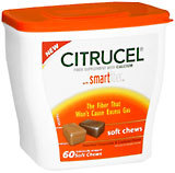 Citrucel Soft Chews With SmartFiber Assorted Chocolate & Caramel - 60 EA