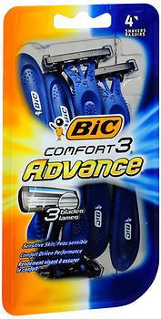 Bic Comfort 3 Advance Shavers 4-Pack - 4 EA