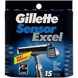 Gillette Sensor Excel Cartridges 15-Pack - 15 Each