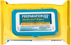 Preparation H Medicated Wipes with Aloe, Refill Pack  - 48ea