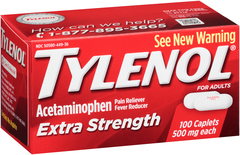 Tylenol Extra Strength 100 Caplets