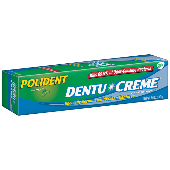 Polident Dentu-Creme 3.9 Ounces