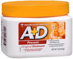 A+D Diaper Rash Ointment and All Purpose Skin Protectant, Original - 16 oz