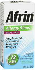 Afrin Sinus, 12 Hour Nasal Spray  - 0.5oz