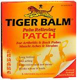 Tiger Balm Patch  -  5 EA