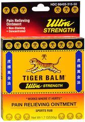 Tiger Balm Sport Rub Ultra Strength  -  1.7 OZ