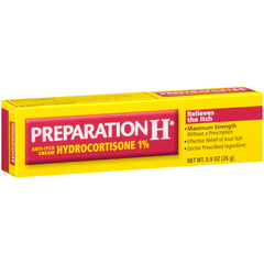 Preparation H Anti-Itch Cream Hydrocortisone 1%  - 0.9oz