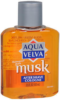 Aqua Velva Musk After Shave Cologne  3.5oz