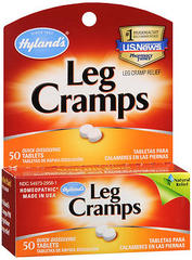 Hyland's Leg Cramp Relief, With Quinine, Homeopathic Tablets  - 50ea