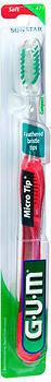 Butler GUM Micro Tip Toothbrush Soft Compact Head - 1 EA