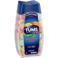 TUMS Ultra Tablets Assorted Fruit - 160 Tablets