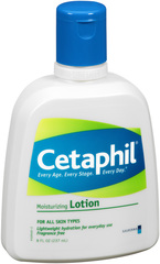 Cetaphil Moisturizing Lotion, Dry, Sensitive Skin Treatment  - 8oz