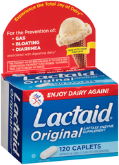 Lactaid Original - 120 Caplets