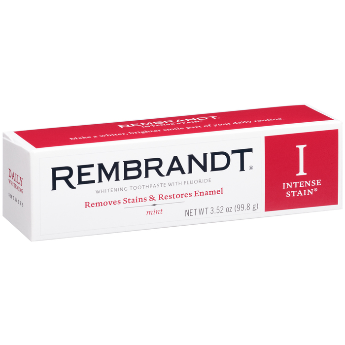 Rembrandt Toothpaste Intense Stain Removal Mint - 3.5 Ounces
