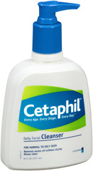 Cetaphil Daily Facial Cleanser for Normal to Oily Skin  - 8oz