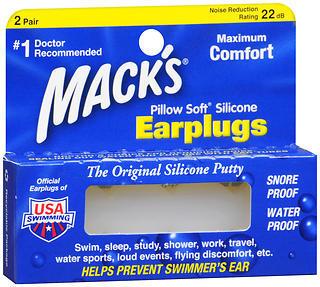 Mack's Pillow Soft Earplugs - 2 Pair