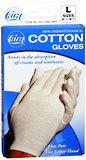 Cara 100% Dermatological Cotton Gloves L - 1 PR