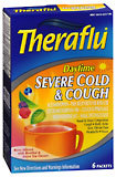 Theraflu Severe Cold & Cough Daytime Packets Berry Infused Flavor - 6 EA