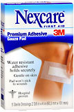 3M Nexcare Soft Cloth Premium Adhesive Pads 2-3/8 Inches X 4 Inches - 5 Each