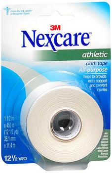 "3M Nexcare Athletic Cloth Tape 1-1/2"""" X 12.5 Yards - 12.5 YD"