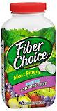 Fiber Choice Prebiotic Fiber Sugar Free Assorted Fruit - 90 Chewable Tablets