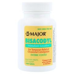 Dulcolax Generic Stimulant Laxative 5mg - 1000 Tablets