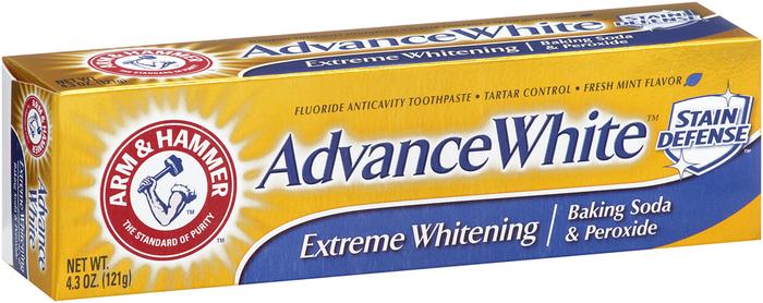 Arm & Hammer Advance White Toothpaste Baking Soda & Peroxide - 4.3 Ounces