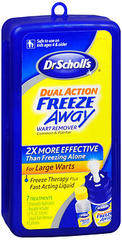 Dr. Scholl's Dual Action Freeze Away Wart Remover - 7 EA