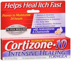 Cortizone-10 Creme Intensive Healing Formula - 1 OZ