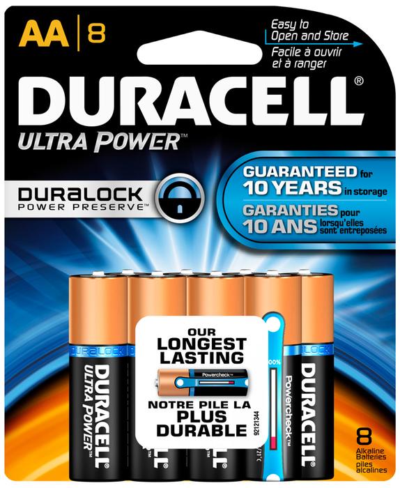 Duracell Ultra 1.5 Volt Battery AA 8-Pack - 8 EA