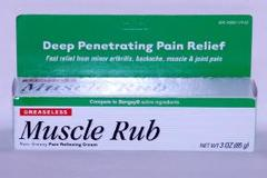 Muscle Rub Pain Relieving Cream 3 Ounces