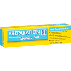 Preparation H Hemorrhoidal Cooling Gel with Vitamin E and Aloe  - 0.9oz