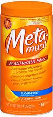 Metamucil Smooth Texture Sugar-Free Orange 114 Doses