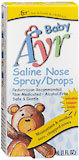 Ayr Saline Nose Spray/Drops for Infants and Children  - 1oz