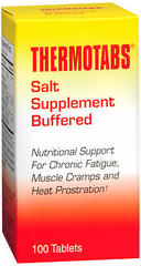 Thermotabs Salt Supplement Buffered 100 Tablets
