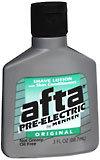 Afta Pre-Electric Shave Lotion Original - 3 OZ