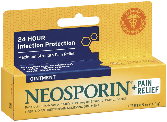 Neosporin First Aid Antibiotic/Pain Relieving Ointment, Maximum Strength  - 0.5oz