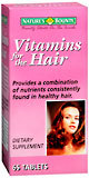 Nature's Bounty Vitamins For The Hair Tablets - 65 Tab