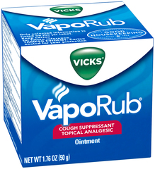 Vicks Nasal Decongestant/Cough Suppressant/Topical Analgesic  - 1.76oz
